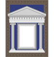 Greek Architecture vector image vector image