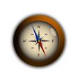 flat compass  traveler modern design vector image