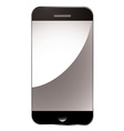 modern smart phone vector image vector image