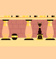 interior ancient egypt vector image