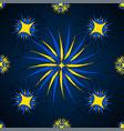 spiral carpet vector image