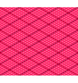 Pink Seamless Isometric Background vector image