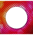 Mosaic Background With Sphere vector image vector image