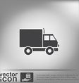 Truck Logistic icon symbol icon laden truck vector image