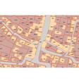parcel map vector image