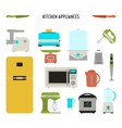 Kitchen Tool Set vector image