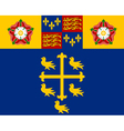 Flag of Westminster Abbey vector image