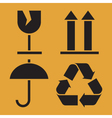 Packaging Symbols vector image