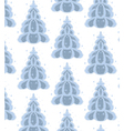 december trees vector image
