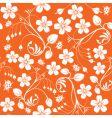 floral nature wallpaper design vector image