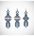 Geometric tower emblem vector image