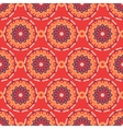 big abstract flowers pattern vector image