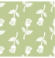 Vintage Seamless pattern roses vector image