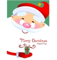 Santa Claus Cartoon vector image