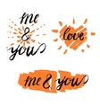 Love lettering 14 A vector image