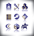 nine symbols to choose from vector image vector image