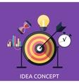 Idea Concept Background vector image