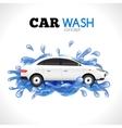 Car Wash Concept vector image