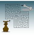 picture depicting a dog a bone and a labinet vector image