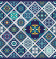 seamless texture beautiful mega patchwork pattern vector image