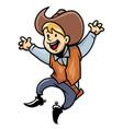 cowboy junior vector image