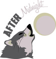 After Midnight vector image