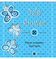 Baby shower - boy vector image