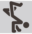 parkour icon vector image