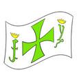 columbus day symbol icon icon cartoon vector image