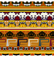 Traditional Indian pattern vector image