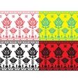 Belorussian ethnic ornament seamless pattern vector image