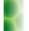 Abstract Green Squared Background vector image vector image