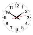 clock simple vector image