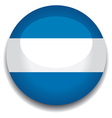 argentina flag in a button vector image vector image