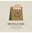 Recycle bag vector image