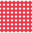 seamless pattern white peas vector image