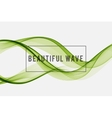 Beautiful wave Background vector image