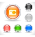 webiste template icons vector image
