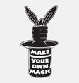 Make your own magic vector image