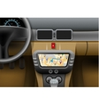Car Navigation Syster vector image