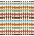 Rhombic seamless pattern vector image vector image