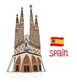 La Sagrada Familia vector image