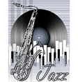 Jazz music festival poster background template vector image