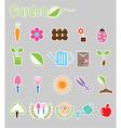 Gardening color icon vector image