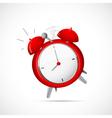 Alarm clock cartoon vector image