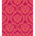 damask red vector image