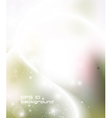 Glowing abstract background vector image vector image
