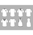 Mans t-shirt design template vector image