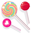 lollies vector image