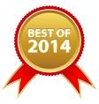 Best badge vector image
